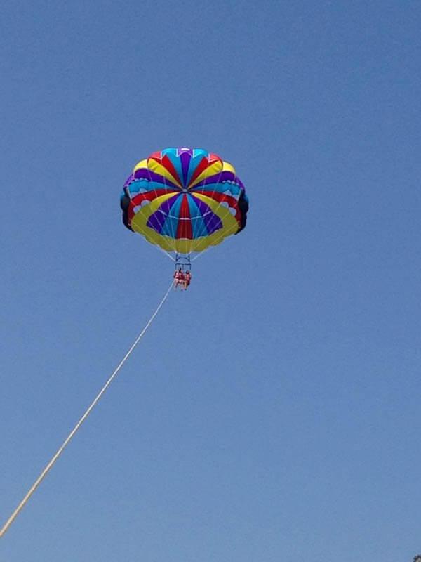 Tsambika Beach_parasailing Rodi
