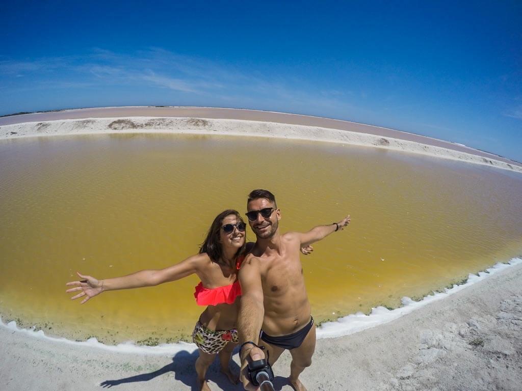 Riserva della Biosfera di Rio Lagartos le saline
