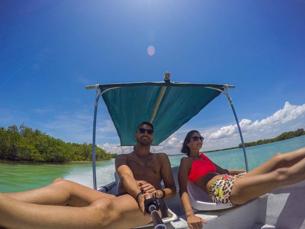 Noi, la barca e la laguna