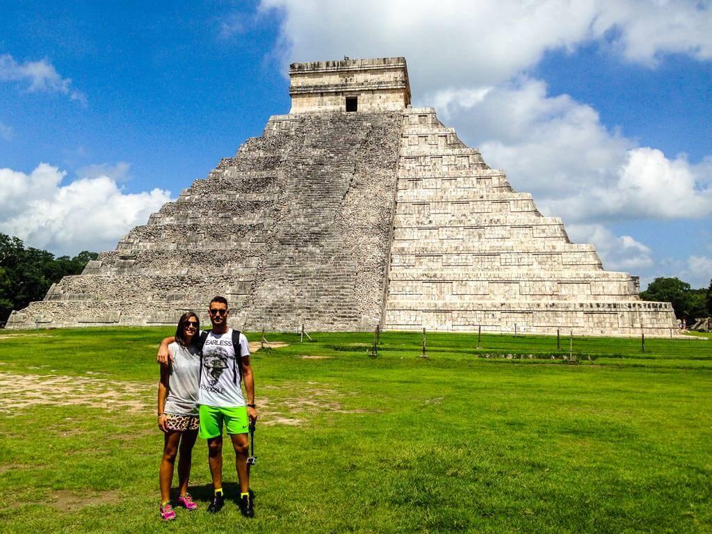 Noi e la piramide di Kukulkan