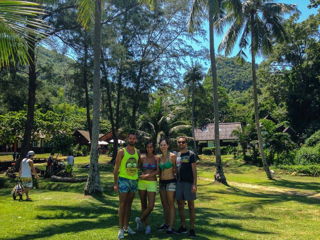 Con i nostri amici Miriam e Matteo