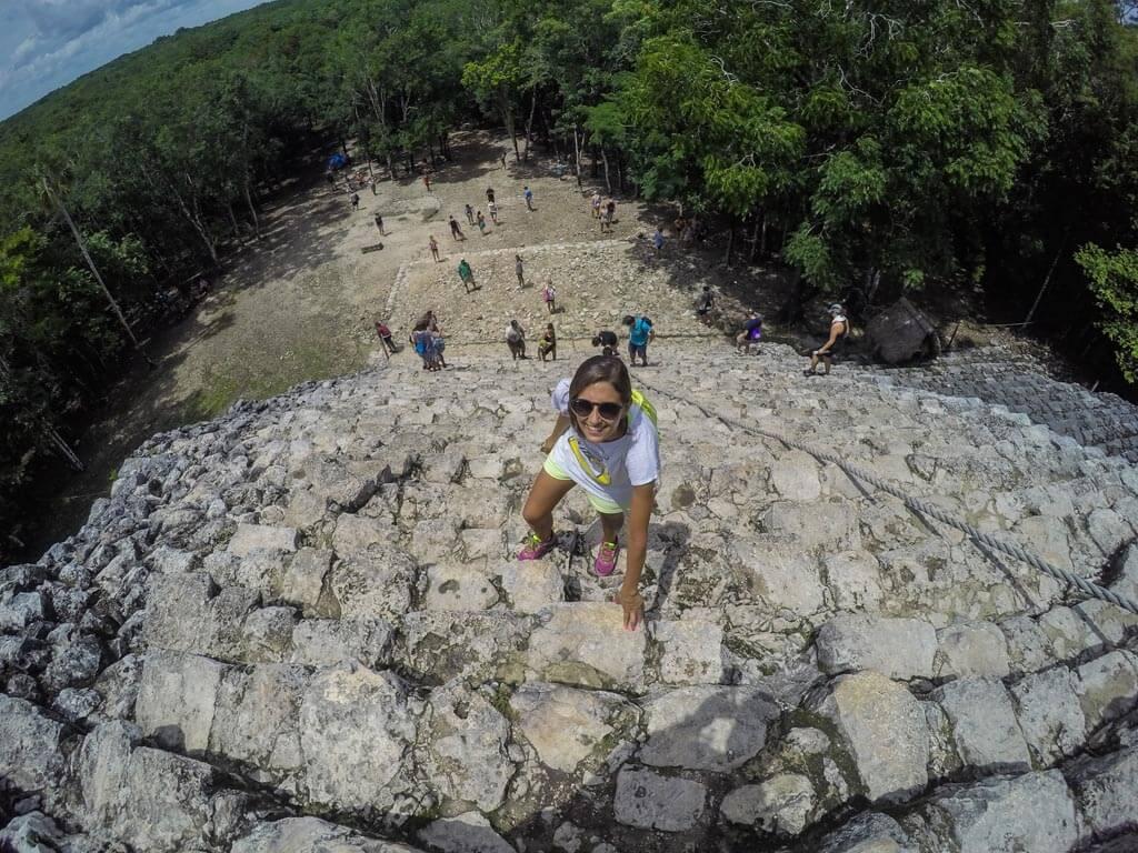 Coba piramide Nohoch Mul