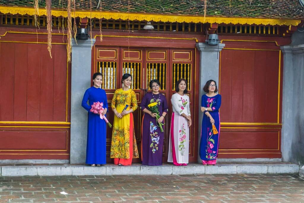 Ladies in Hanoi
