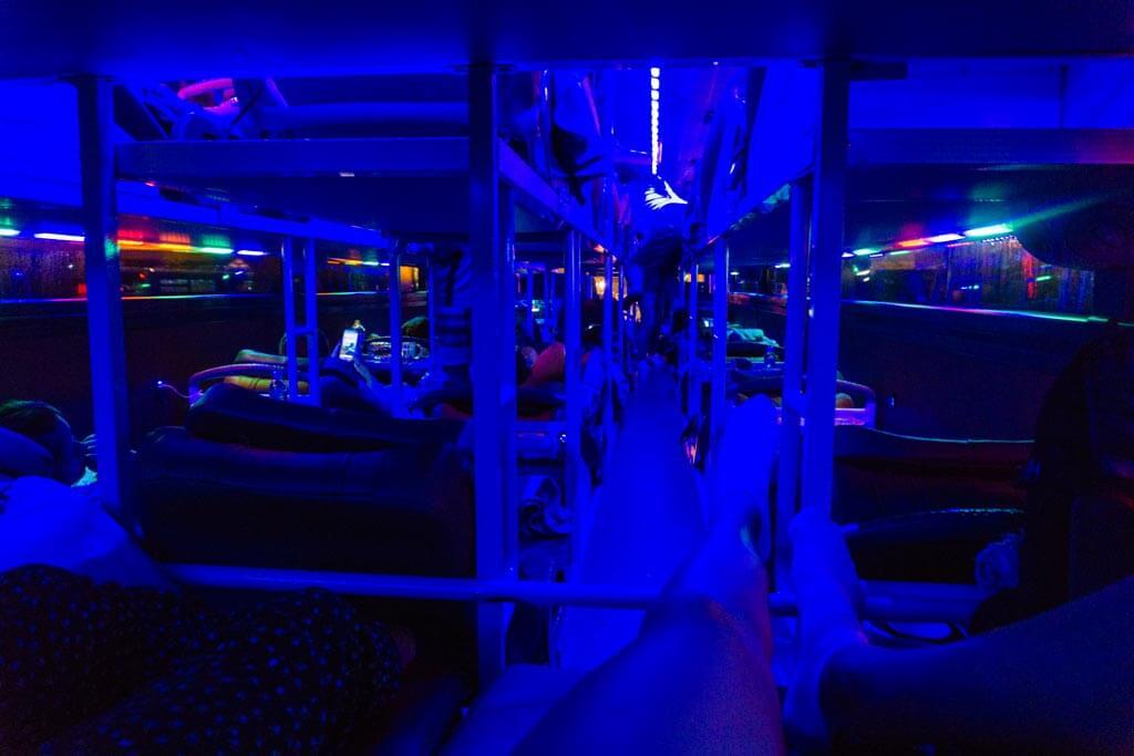 Sleeping bus verso Sapa