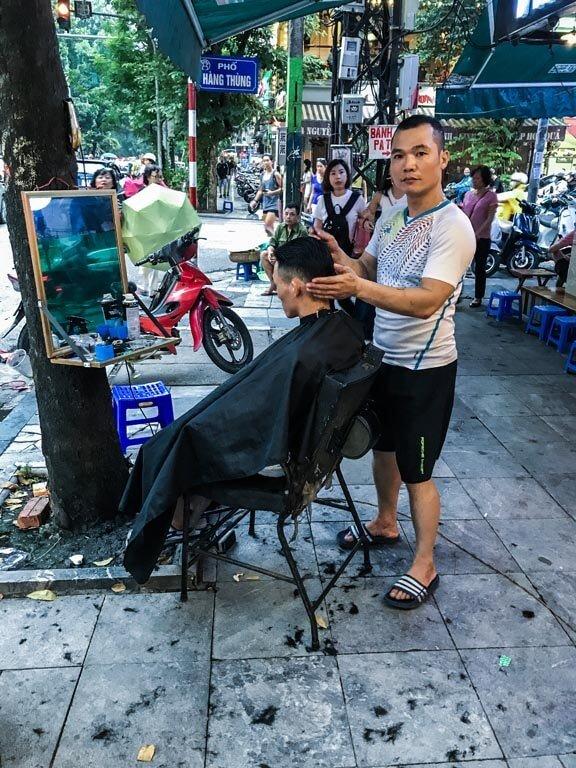 Barbiere di Hanoi
