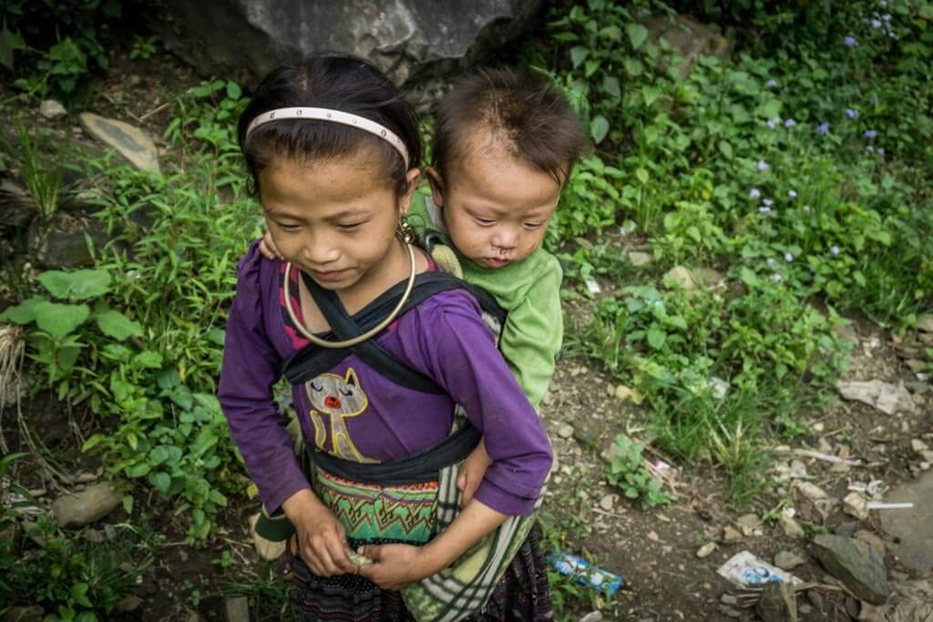 Bambini a Sapa