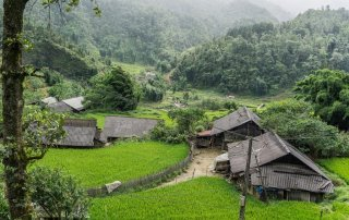 Villaggi tra le risaie