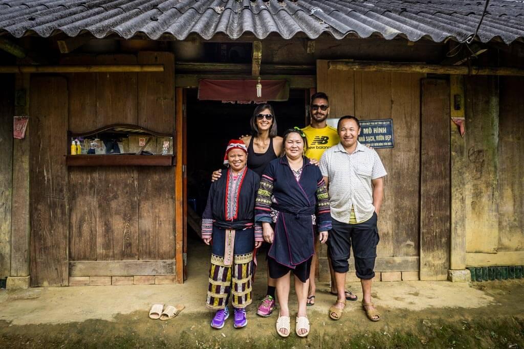 Sapa - Cat Cat village - presso la famiglia Chung