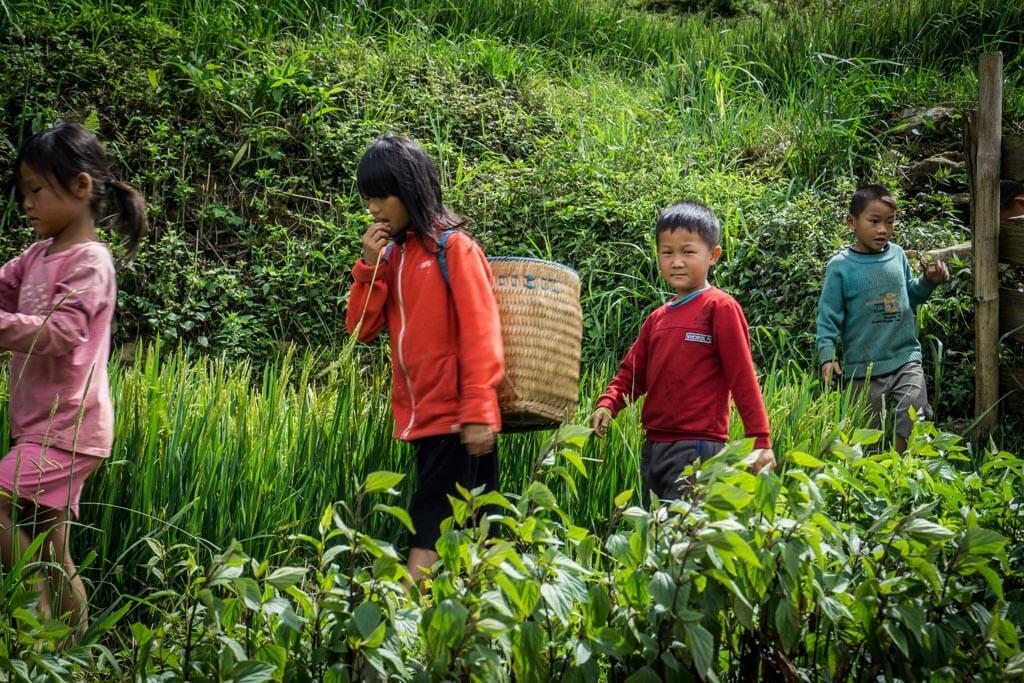 I bambini di Sapa