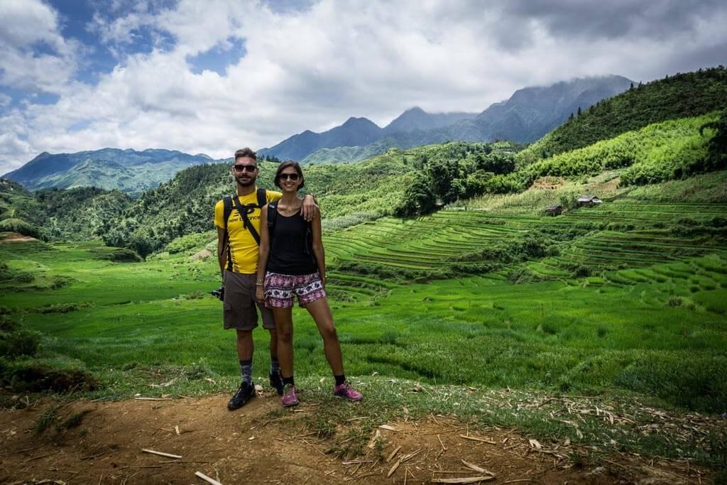 Noi nelle valli di Sapa