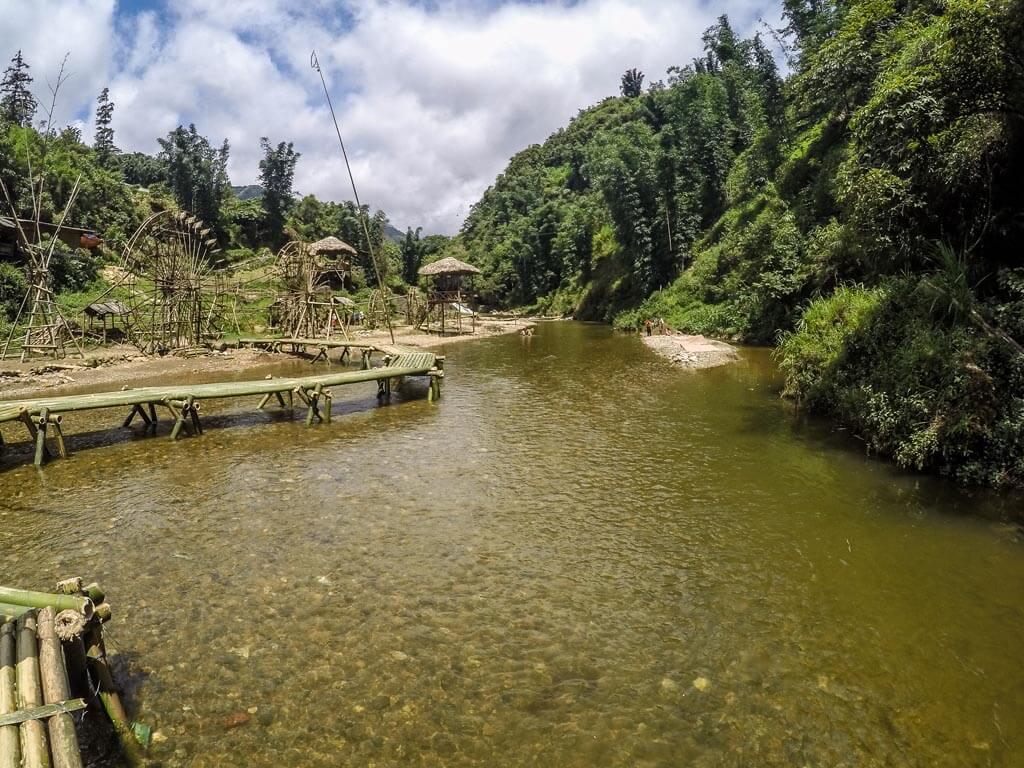 Il ponte di bambù