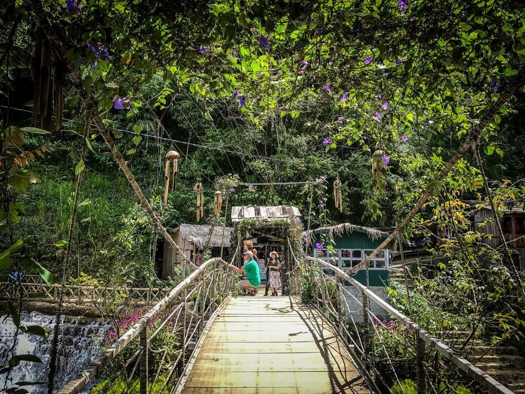 Il ponte di cat cat village