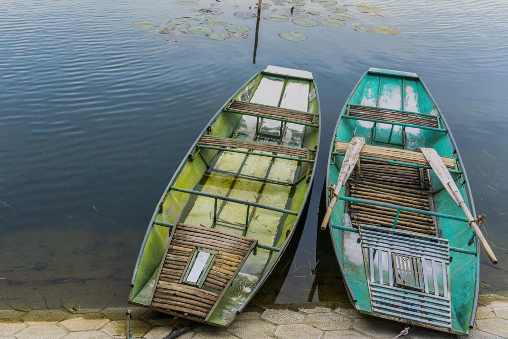 Ninh Binh - barche