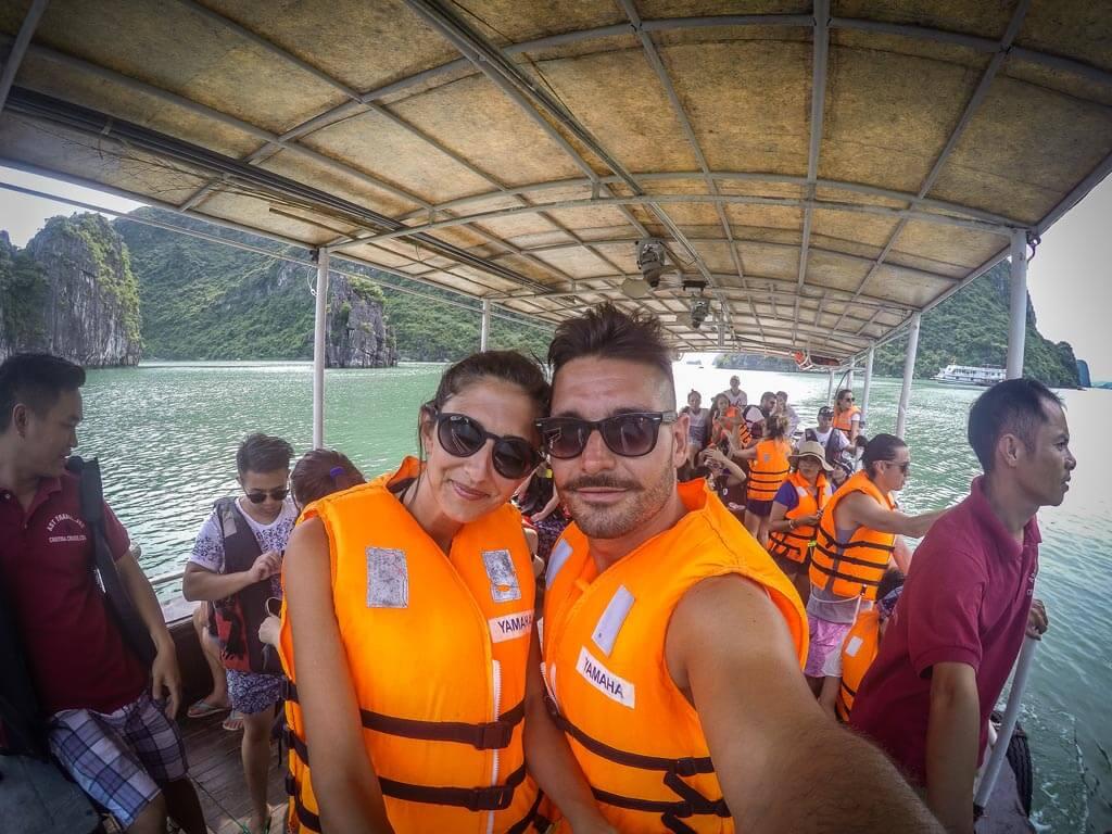 Halong Bay - pronti per il kayak