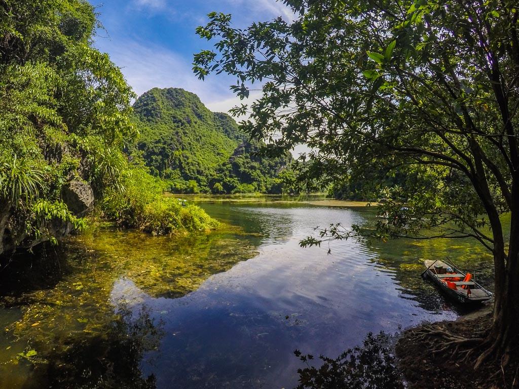 Vietnam del nord - gita sul fiume a Trang An