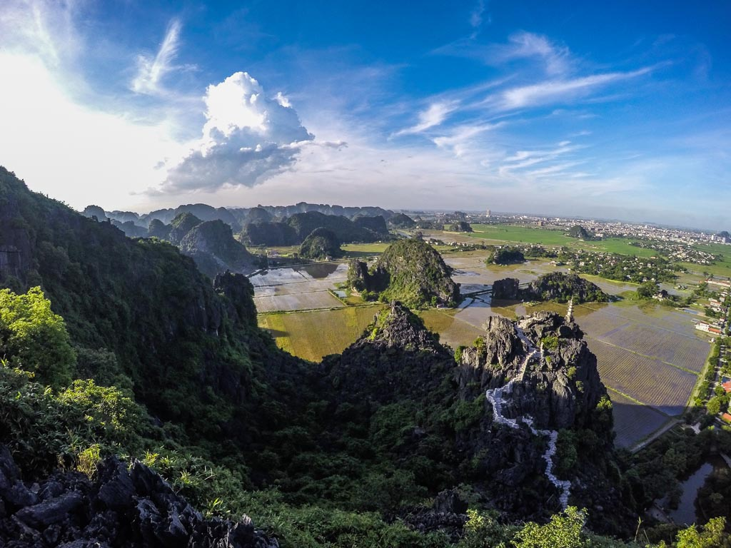 Vietnam del nord - Ninh Binh vista dall'alto