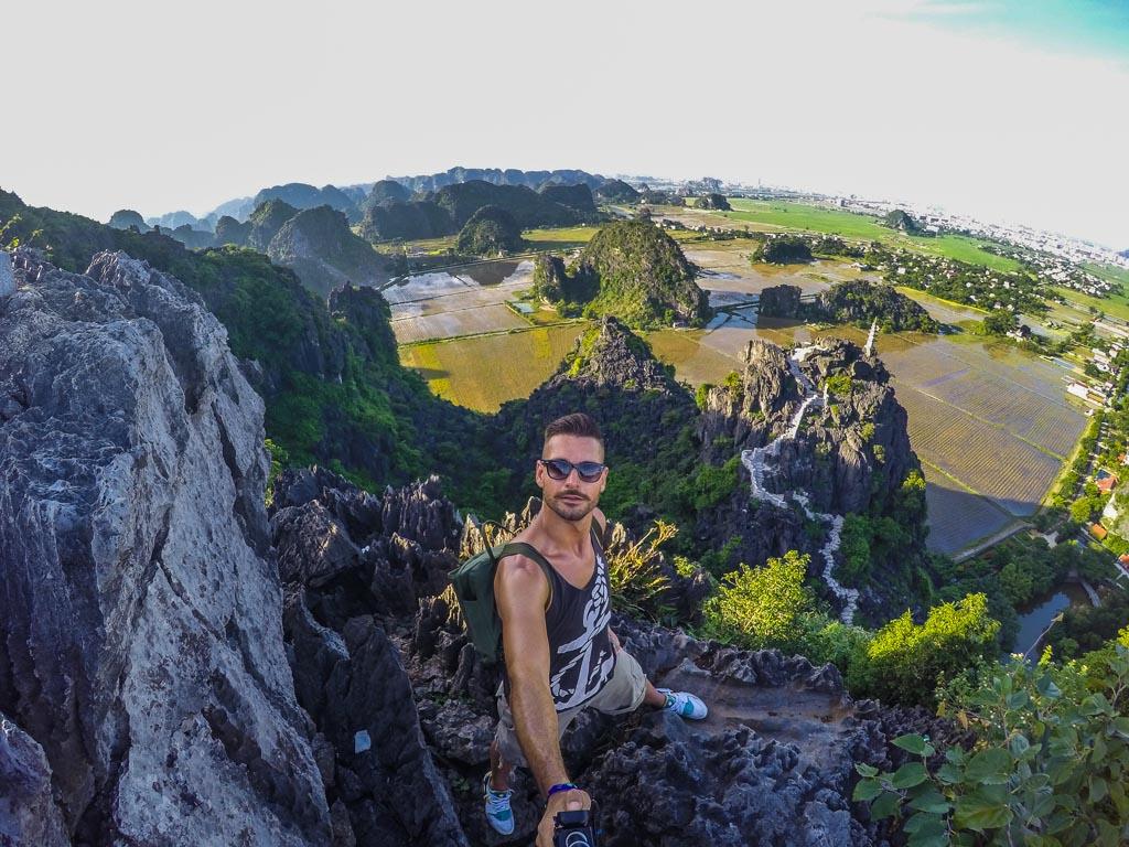 Ninh Binh - Sulla vetta di Mua Cave