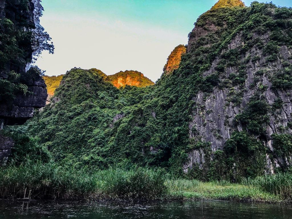 Vietnam del nord - Prime luci dell'alba a Tam Coc