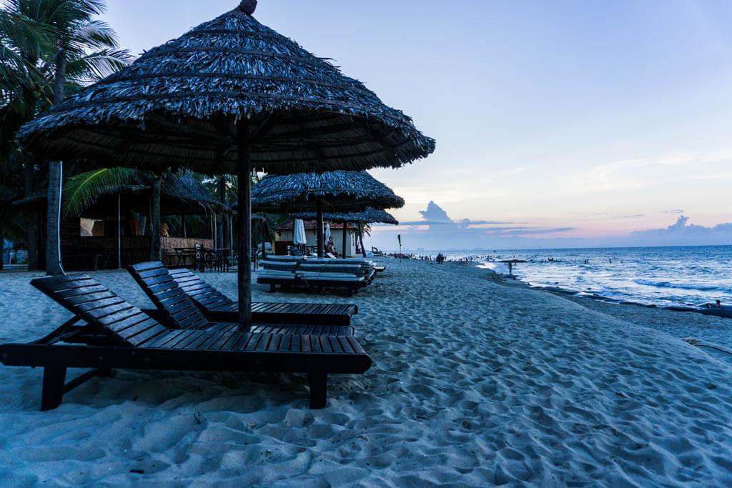 Vietnam mare - Hoi an, la spiaggia di Cua Dai
