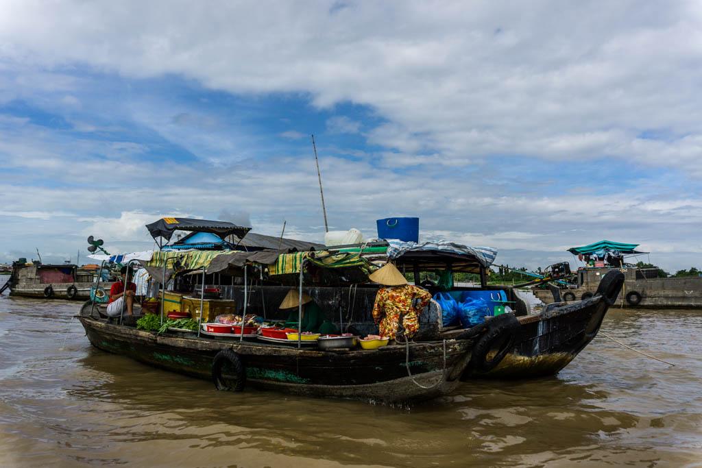Delta del Mekong - Mercato di Long Xuyen