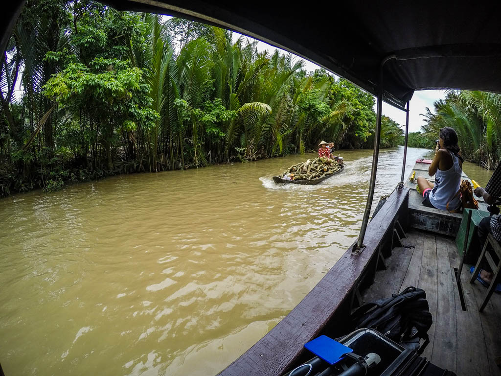 Delta del Mekong - nei canali di Ben Tre