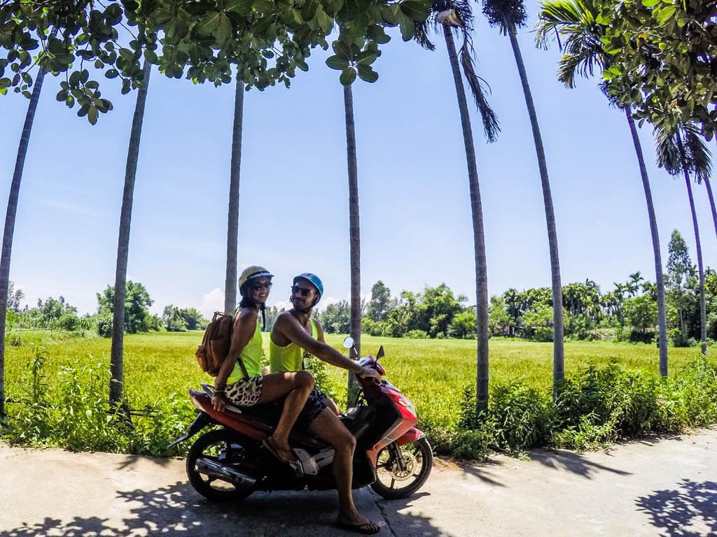 Hoi An - alla scoperta della campagna in scooter