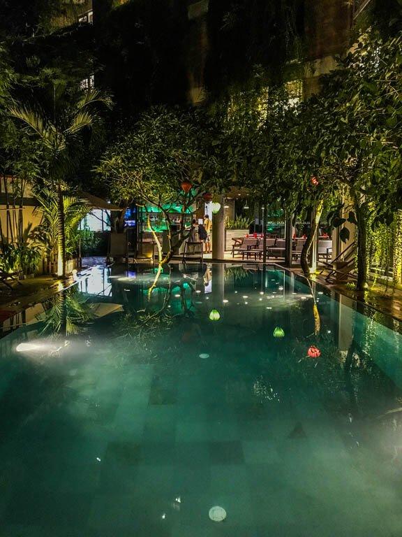 Atlas Hotel Hoi An- piscina