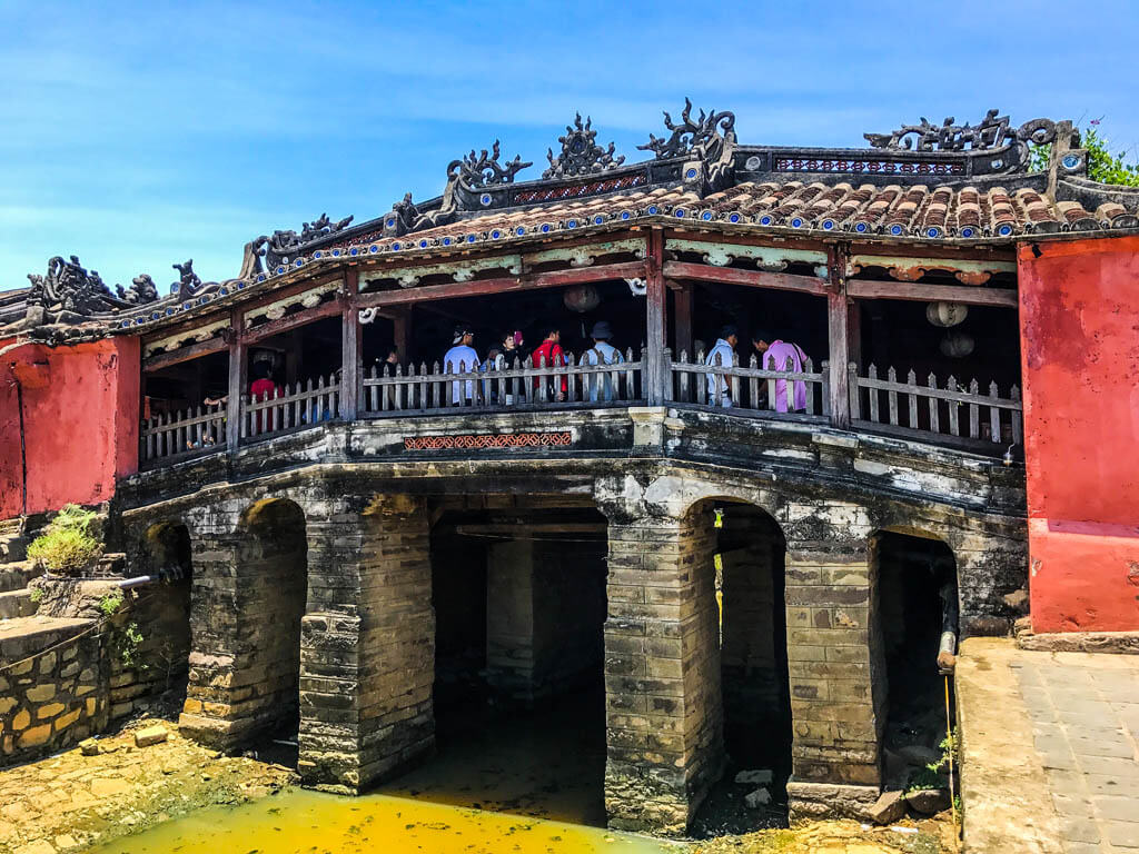 Hoi An cosa vedere - Il ponte giapponese