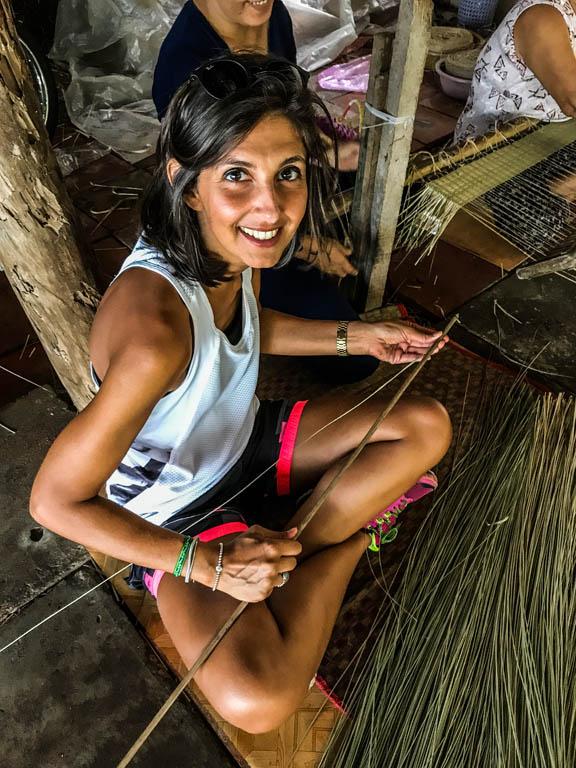 Delta del Mekong - imparando a filare