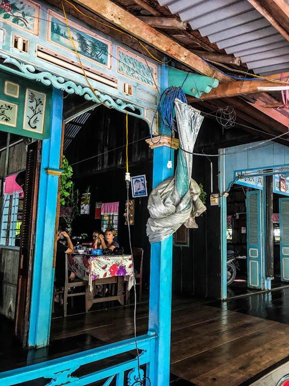 Delta del Mekong - tipica abitazione