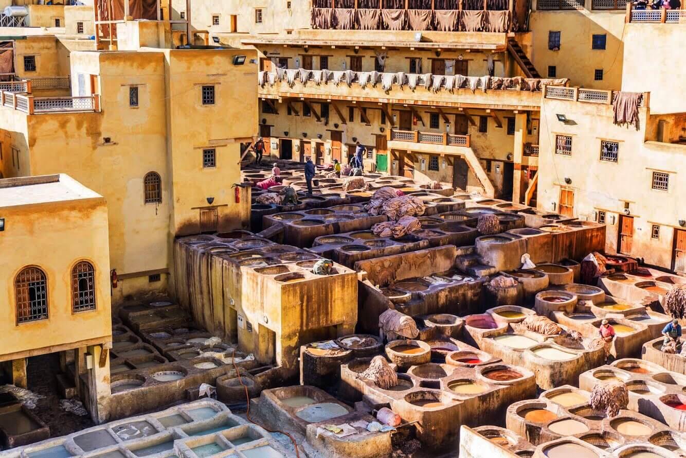 Marocco itinerario di viaggio_concerie