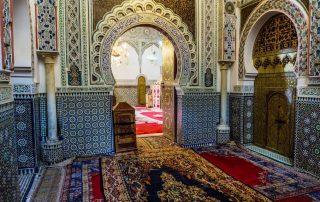 Interno di una moschea