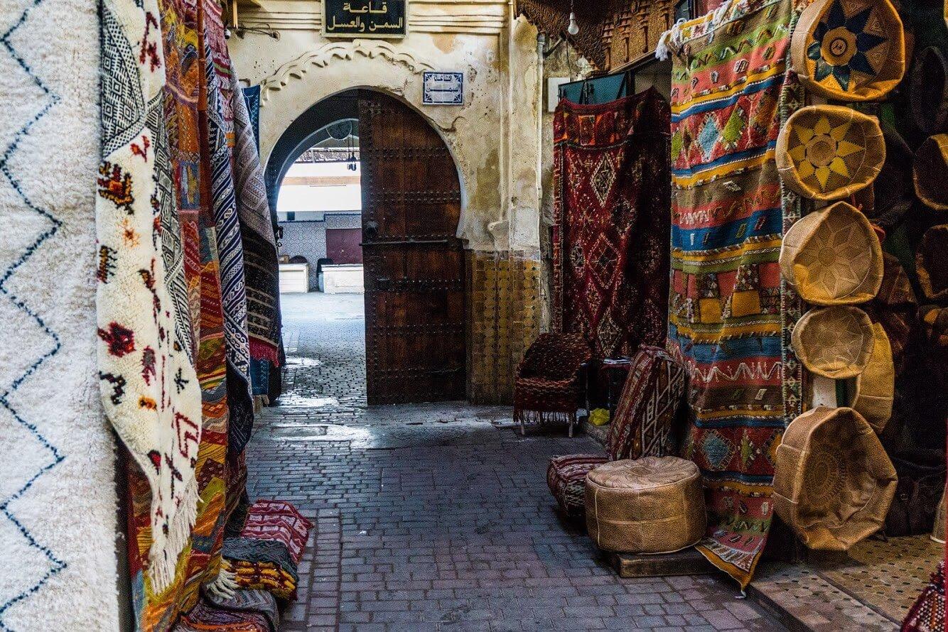 Marocco itinerario di viaggio_strade di Fès