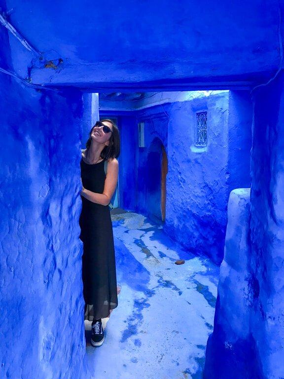 La città blu del Marocco Chefchaouen