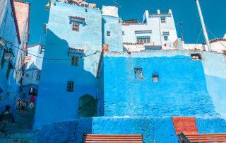 Le case blu di Chefchaouen