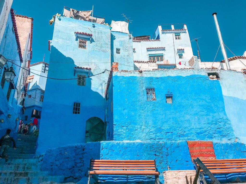 Case Blu Marocco : Un giorno a chefchaouen: la città blu del marocco whext travel blog