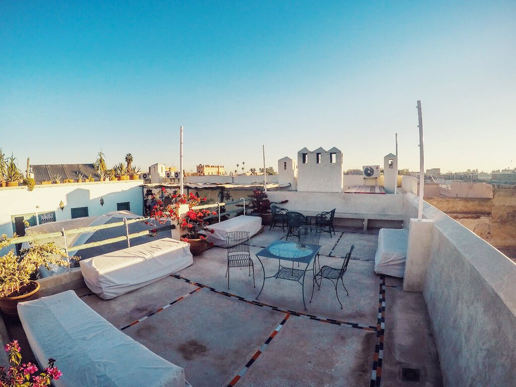 terrazza panoramica su Marrakech