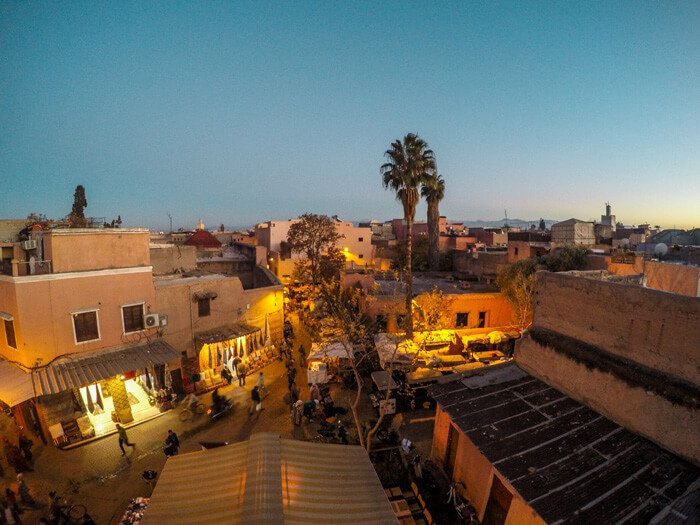 Marrakech al tramonto