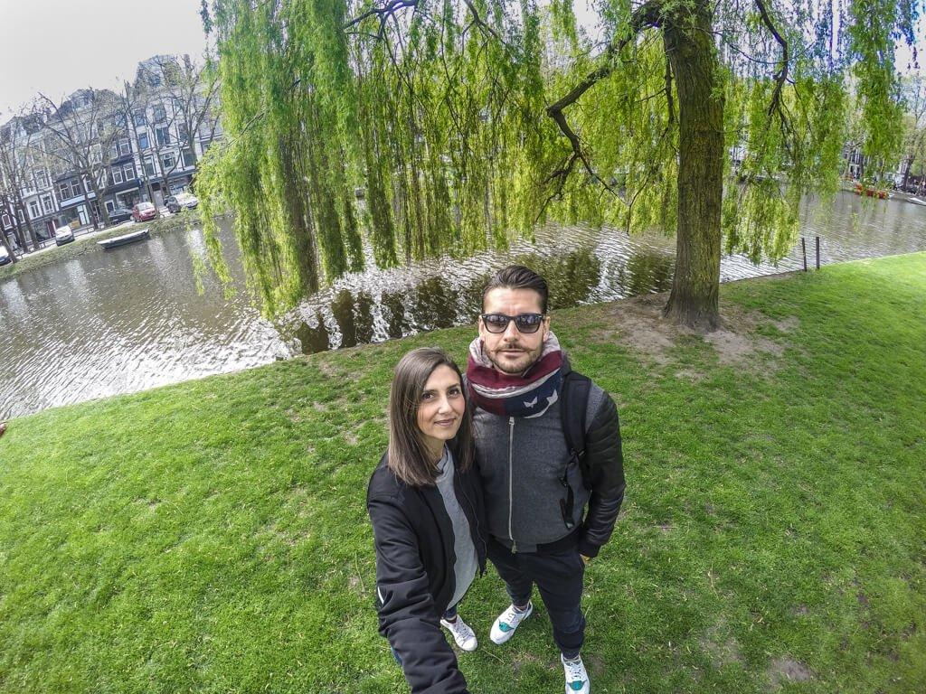 Amstel_selfie con gopro