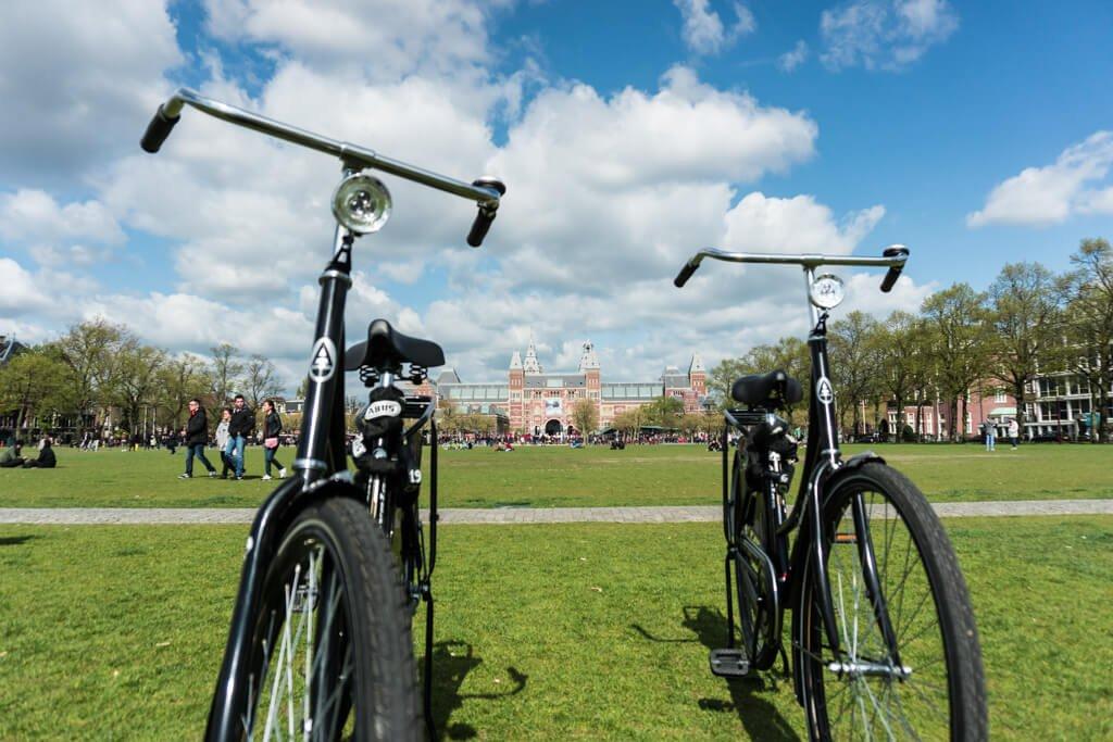 Bici a Museumplein