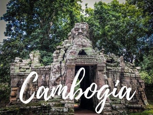 Angkor Wat tempio - Cambogia copertina