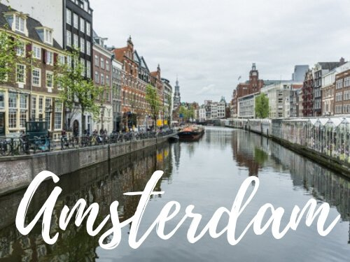 Canali di Amsterdam - Copertina