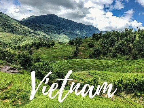 Risaie di Sapa - Vietnam Copertina