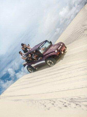 Dune Buggy sulle dune brasiliane