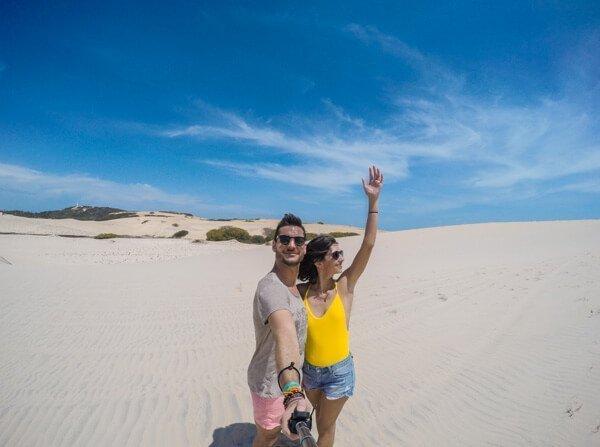Selfie tra le dune brasiliane