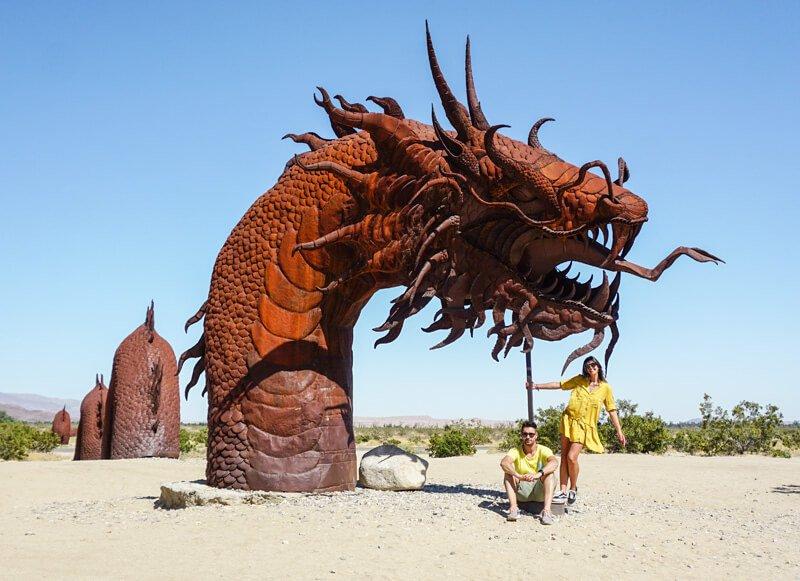 california on the road itinerario_Scultura Ricardo Breceda Anza Borrego
