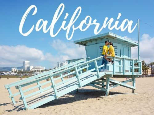 California Itinerario di 10 giorni