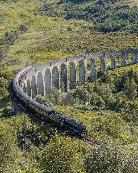 Harry Potter Tour Glenfinnan Viaduct