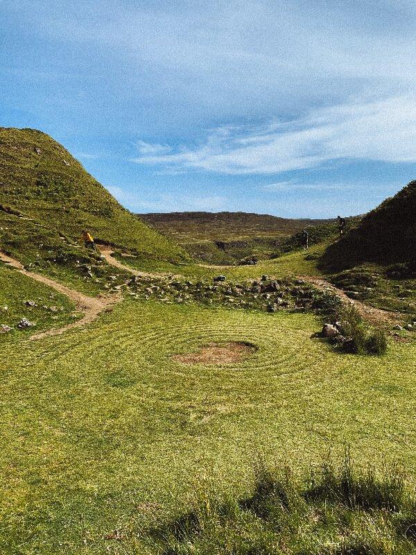Isola di Skye cosa vedere Fairy Glen