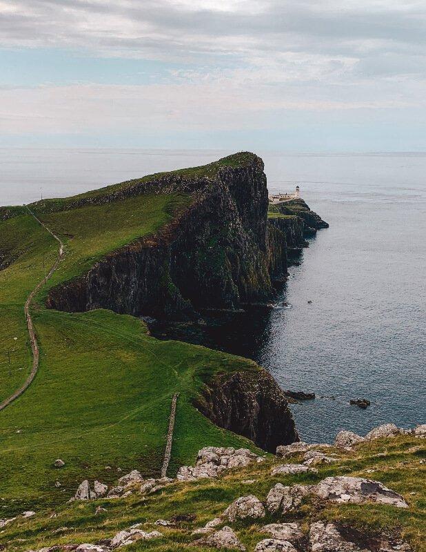 Isola di Skye il faro
